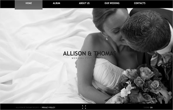 wedding website templates create more than a wedding album