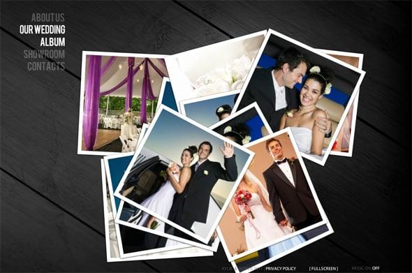 Wedding Website Templates: Create More than a Wedding Album