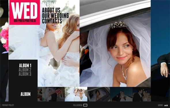 Wedding Web Album