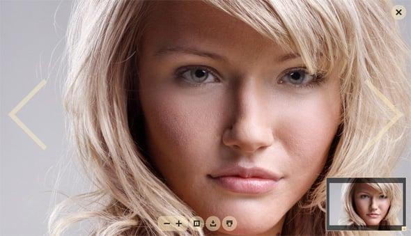 Flash Gallery Template for Widescreen Photos