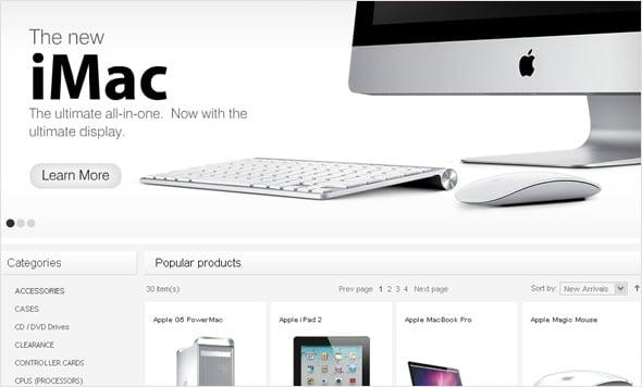 Computer Store E-commerce Solution