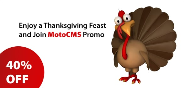 Get MotoCMS website templates with a 40% discount