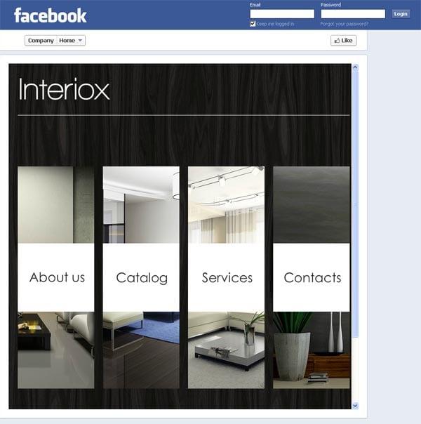 Дизайн и интерьер. Оригинальная страница на Facebook