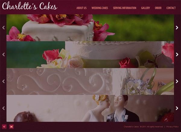 Сайт свадебных тортов