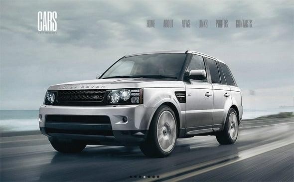 Automotive Website Template by MotoCMS