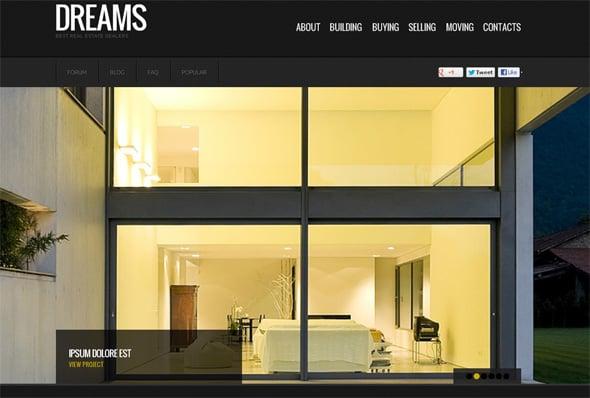 Real Estate Web Design by MotoCMS
