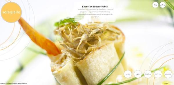 Сайт уютного ресторана