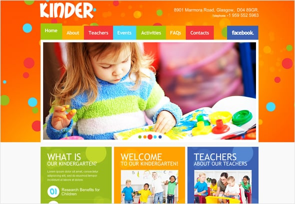 Website Solution for Child's Projects