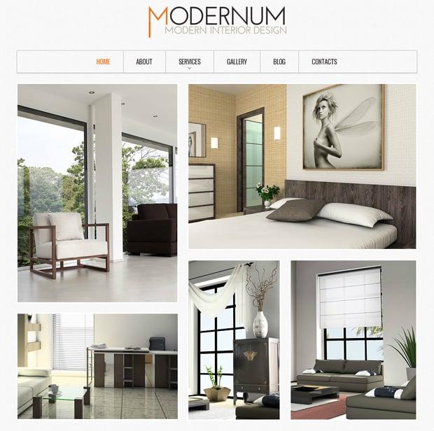 Шаблон сайта для студии дизайна