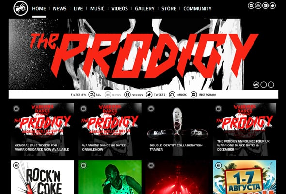 Prodigy's Official Website