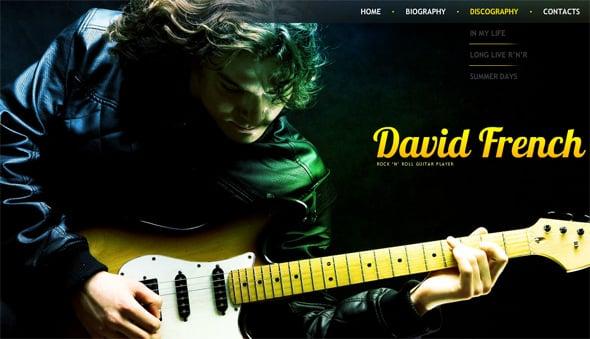 Grunge Style Web Template