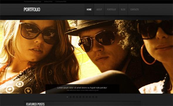 Web Design Grunge Style Template