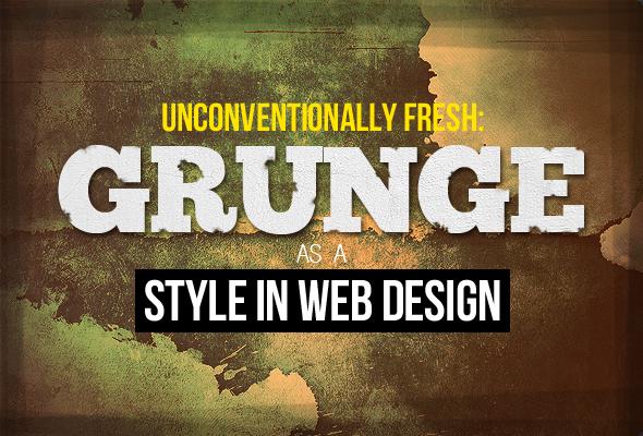 Grunge Style in Web Design