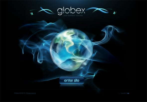 Website Template to Present Your Business