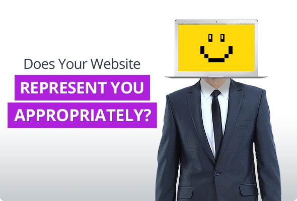 Does Your Website Represent You Appropriately