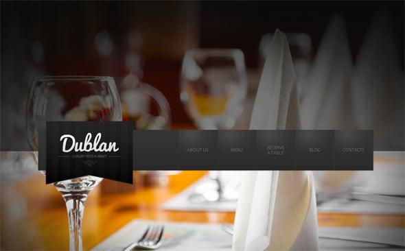 Fixed Background Website Design Trends