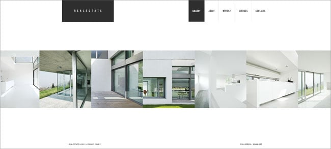 Real Estate Company Website Template