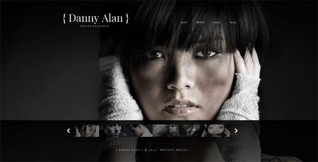 Photographer's Portfolio Website Template