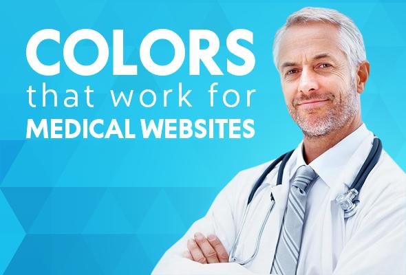 Medical Website Templates Colors