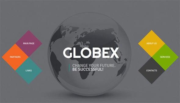 Futuristic Business Website Template