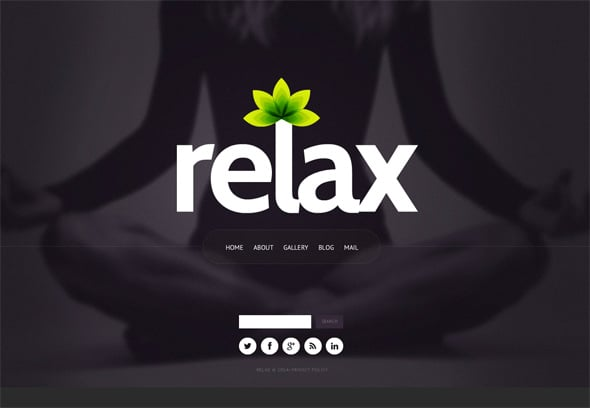 Women Targeted Yoga Website Template