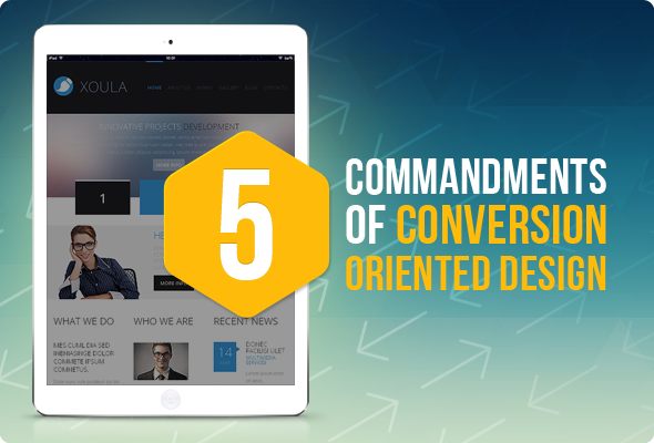 5 Principles of Conversion Centered Design