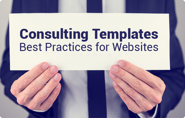 Consulting Templates - Best Practices for Websites