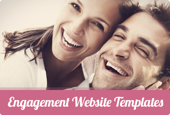 Engagements website templates