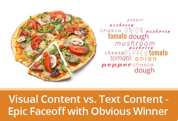Visual Content vs. Text Content