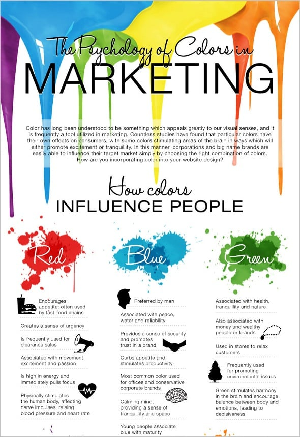 Colors and Marketing Best Infographics