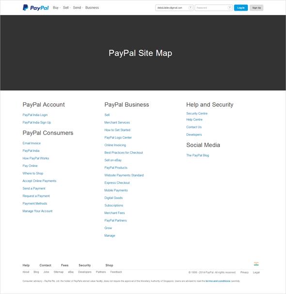 user centered design sitemap