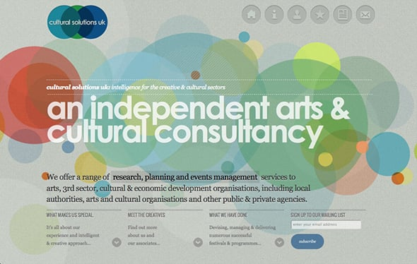 Focal Point in Web Design Typography