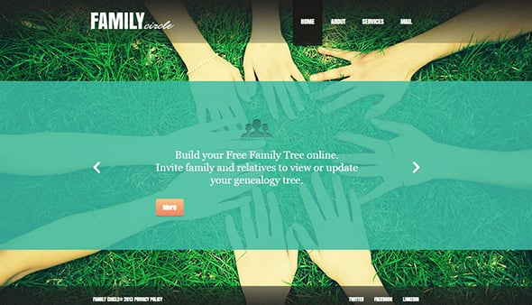 Transparency in Web Design Example