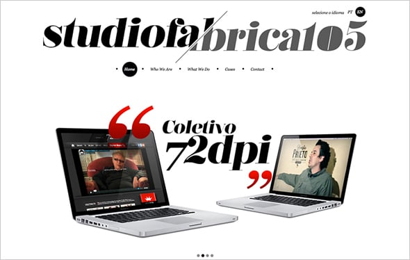 White Space to Create Focal Point in Web Design