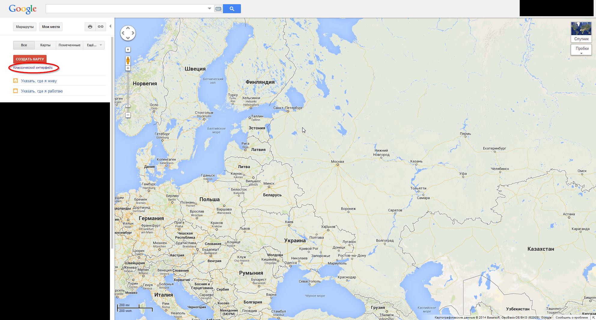 Как сделать google карту на сайте как из макета сделать сайт