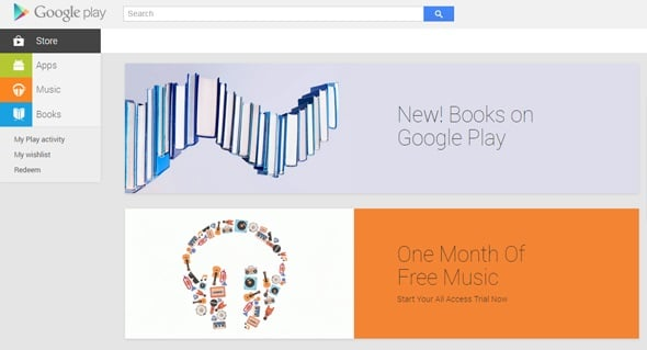 Material Design Google Play
