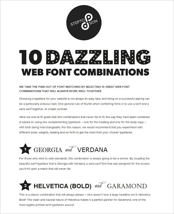 Learn Typography: 47 Awesome Infographics for Web Designers