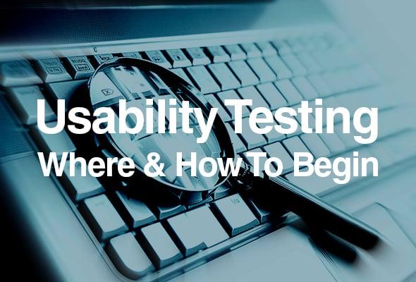 usability testing basics