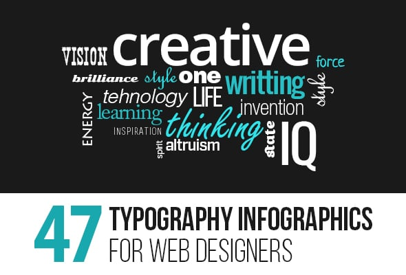 Best Web Design Articles - Learn Typography: 47 Awesome Infographics for Web Designers
