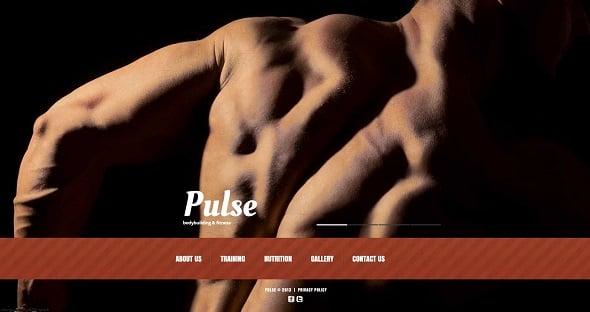 Create a Fitness Website - Dark-Toned Fitness Website Template