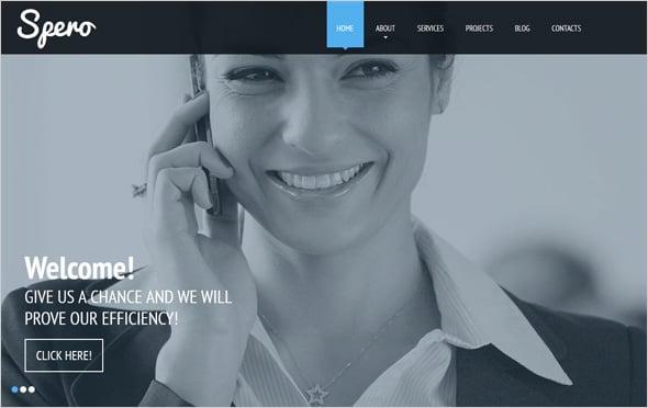 Ghost Buttons Business Website Design