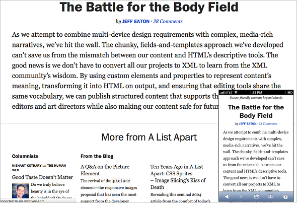 Size Matters: Balancing Line Length And Font Size In Responsive Web Design