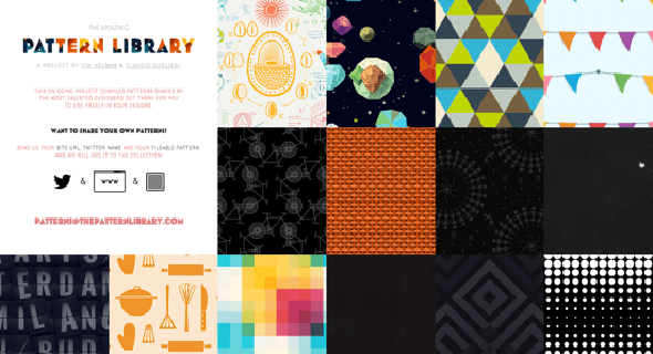 The Pattern Library: Free Seamless Patterns for Your Designs