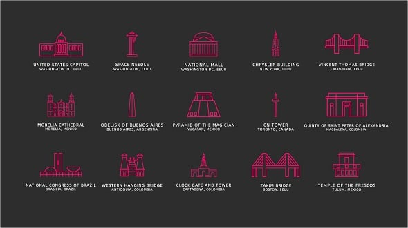 Freebie: Touristic Icons