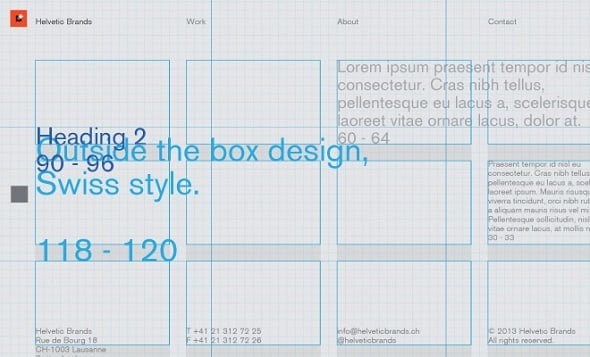 Web Design Ledger - Applying the Rule of Thirds to Web Design