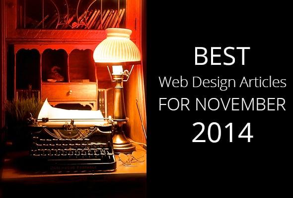 Best Web Design Articles for November