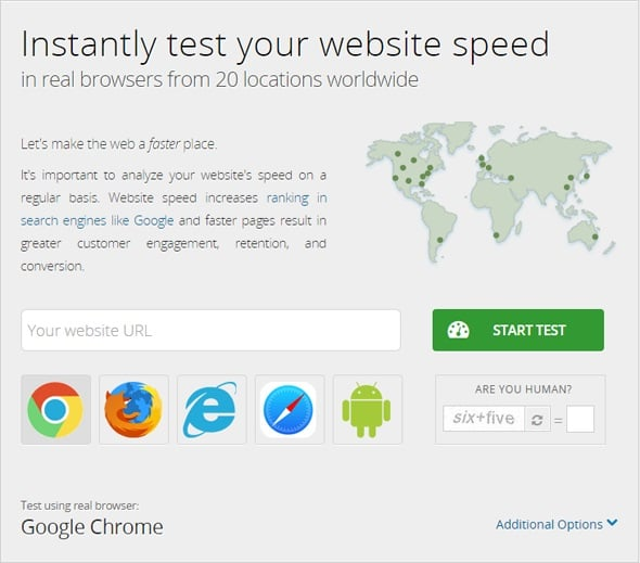Increase Website Speed - Dotcom