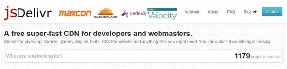 Increase Website Speed - jsDelivr