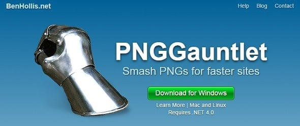 Increase Website Speed - PNGGauntlet
