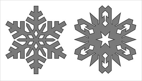 Web Design Freebies - Free Snowflakes Brushes